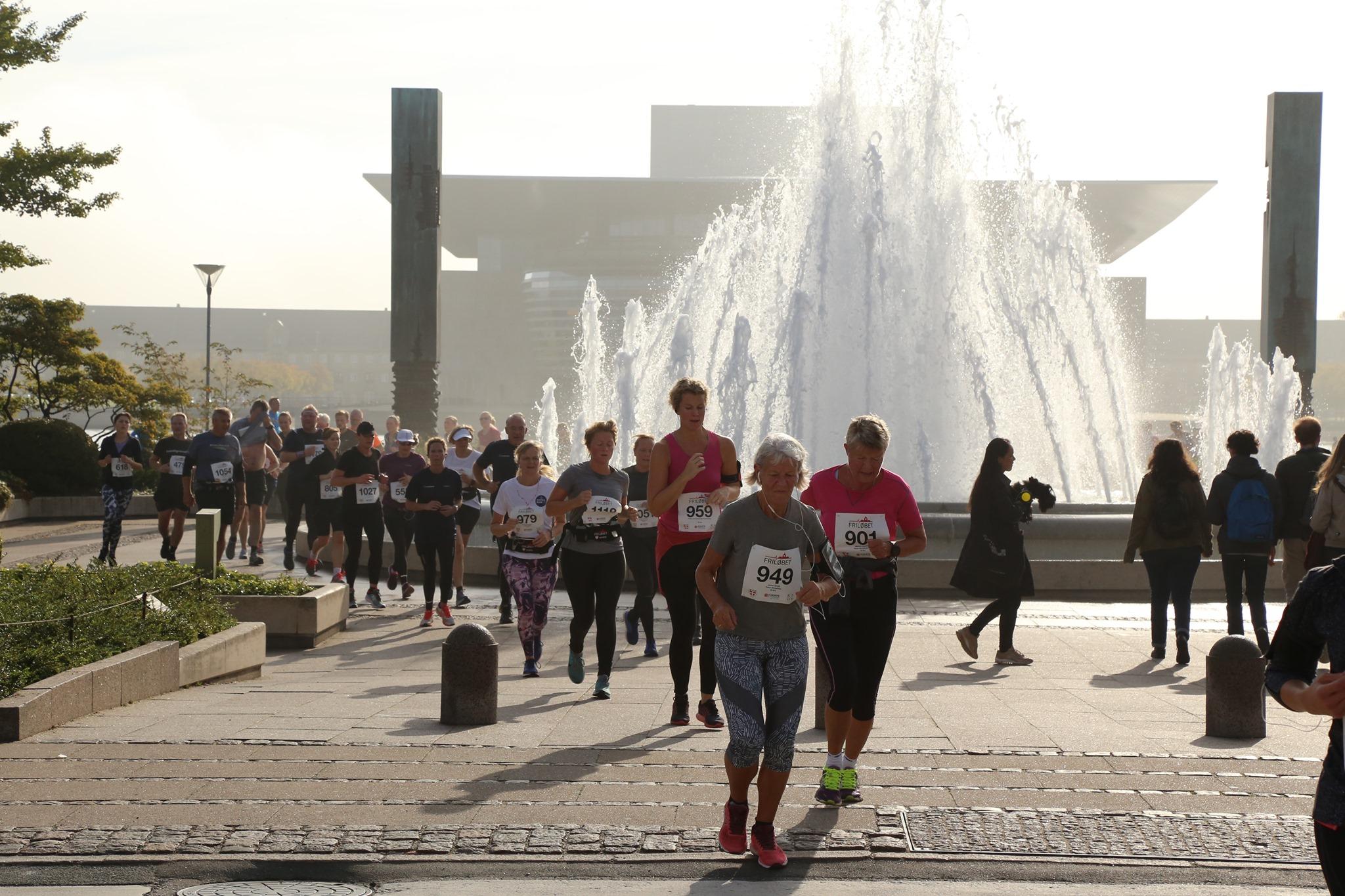 Motionsløb i København - Friløbet